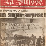 Deux militants genevois témoignent de leurs parcours dans les mouvements de libération des homosexuels dans les années 68 et après.