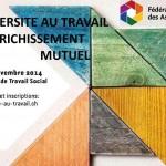 Les assises « La diversité au travail : un enrichissement mutuel» 28 et 29 novembre – Programme & inscription