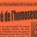 France – deux chrétiens évangéliques traduits en justice pour un tract homophobe