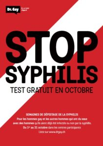 flyer stop syphilis